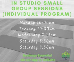 Appointments, individual program group sessions &  live online classes